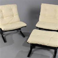 siesta easy chairs (set of 3) by ingmar anton relling