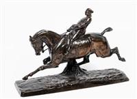 militar a caballo by emmanuel de santa coloma