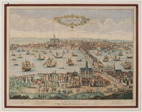 londinum, urbs praecipua regni angliae by antoine aveline