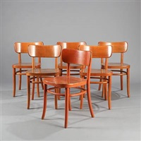 chairs (set of 6) by magnus læssoe stephensen