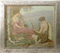 courtship scene by francis newton