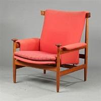 bwana easy chair (model fd 152) by finn juhl