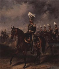 3rd (kings own) light dragoons by henry martens