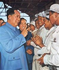 工人1955年 (workers in the coal mine) by xie hongjun