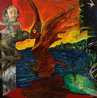composition with daemons by tine hind and hans oldau krull