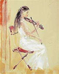 violin by liu wenjin