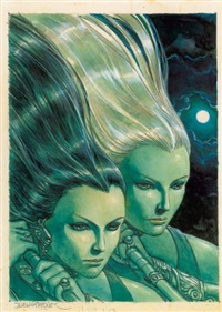 femmes (from l'univers de juan gimenez) by juan giménez