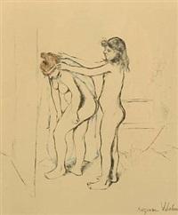 la toilette by suzanne valadon