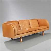 freestanding three seater sofa (model ej20) by jörgen gammelgaard
