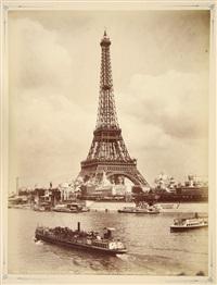 vues de paris et de ses environs (album of 40 works) by albert hautecoeur