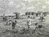 les enfants sur la plage by camille lesne