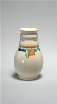 vase (designed by eelke snel and anton cornelis van ee) by kennemer pottenbakkerij