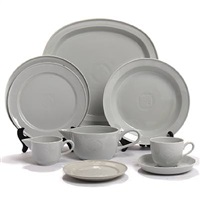 gemma chine dinner and coffee set (set of 37) by gertrud vasegaard