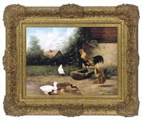 the cock of the roost (manner of cornelis van leemputten) by ray jacob