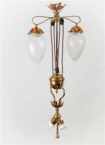 deckenlampe by william arthur smith benson