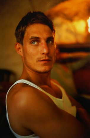 clemens at lunch at cafe de sade lacoste franco by nan goldin