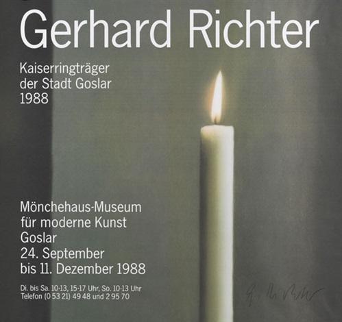 kerze by gerhard richter