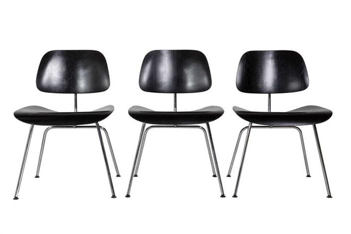Chaises de salle à manger, modèle DCM, de la série contreplaqué set ...