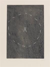 cercle sur matière by antoni tàpies