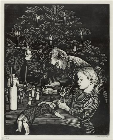 weihnachtszeit by conrad felixmüller