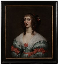 henrietta maria, wife of charles i by gilbert jackson