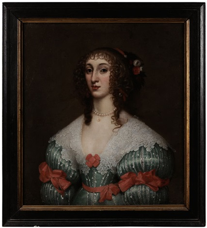 henrietta maria wife of charles i by gilbert jackson