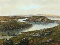 faroese landscape by joen waagstein