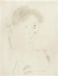 weiblicher kopf by bruno goller