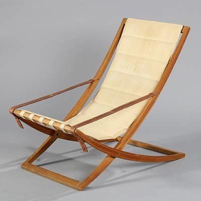 Adjustable Deck Chair Armrests, Hanging (model Ph 76) By Mogens Plum
