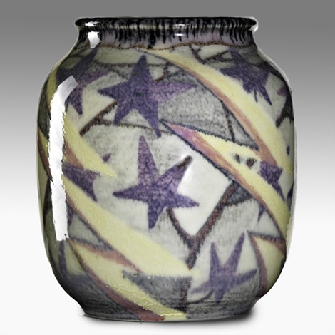 vase with stars by mary h mcdonald