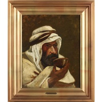 arab by elliot daingerfield