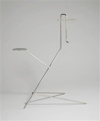 mask display stand (portrait of k) by martin boyce