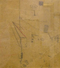 about clean action (prepatory drawing) by kazimir malevich