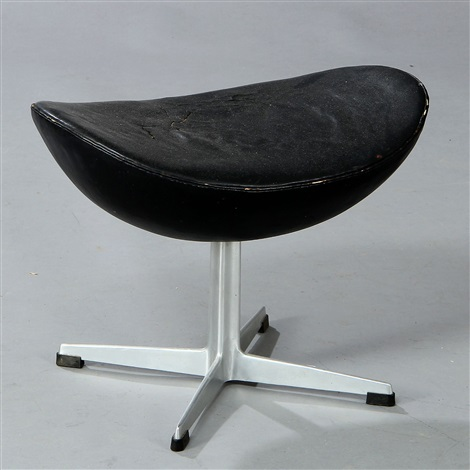 stool for the egg chair model 3127 by arne jacobsen