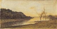 paesaggio fluviale by vittorio avondo