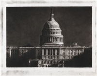 study of capitol by robert longo
