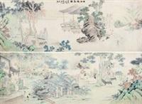 西泠雅集图 by jiang jing