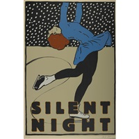 silent night by paula scher