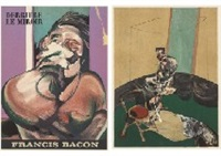 derriere le miroir (5 works) by francis bacon