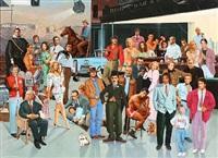 hollywood stars by jaromir kocourek