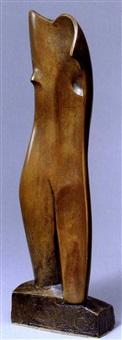 weiblicher torso by rudolf belling