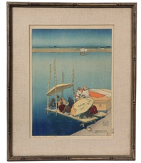 benares by charles william bartlett