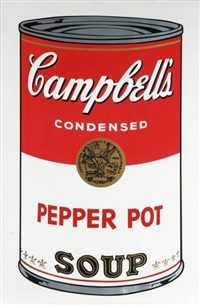 pepper pot (from campbell's soup i) by andy warhol