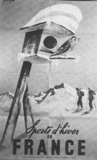 sports d'hiver en france by j. leger