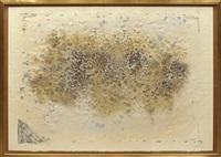 gris et marron by antoni tàpies