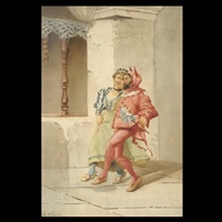 stepping out with mephistopheles by f. glyndon