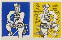 le cirque (suite of 62, some in color) by fernand léger