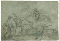 dopo la caccia by giovanni agostino (abate) cassana