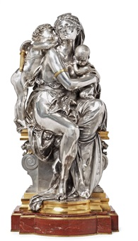 entre deux amours (between two loves) by albert ernest carrier-belleuse