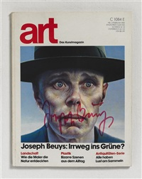 art 1983 by joseph beuys